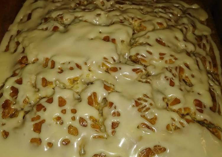 Maple Walnut Strudel Coffee Cake