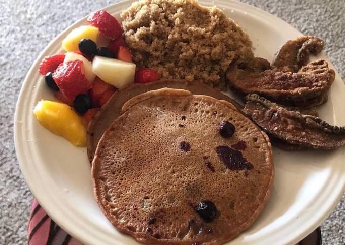 Alkaline - Blueberry Spelt Pancakes