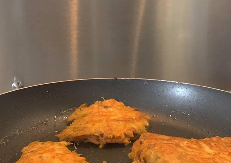 Galettes de carotte