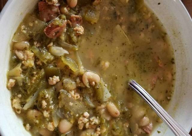 Chicken Chile Verde Soup