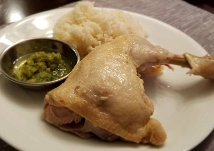 Hainan Chicken (Instant Pot)