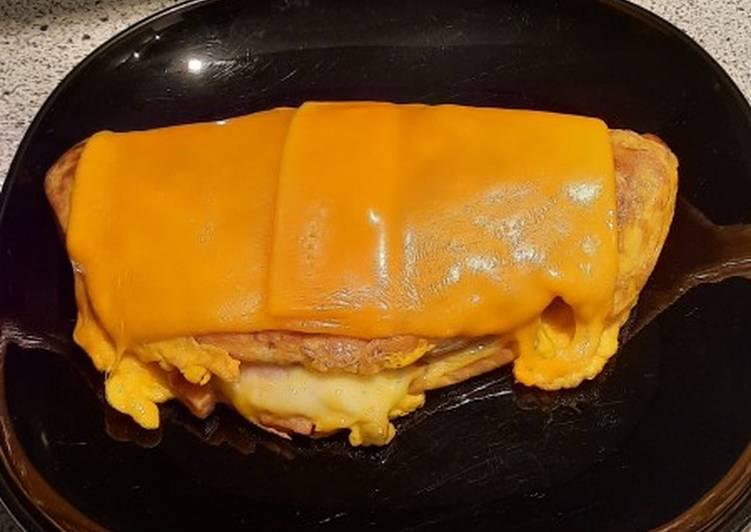Crêpe omelette