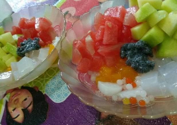 Sup Buah jelly aLa pawon naylee (#PR_EsBuah)