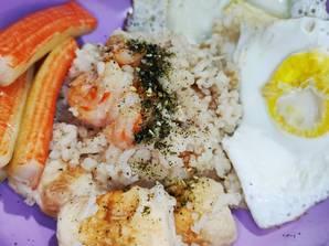 Resep Nasi Ayam Kfc Rice Cooker Viral Sederhana Oleh Shireishou