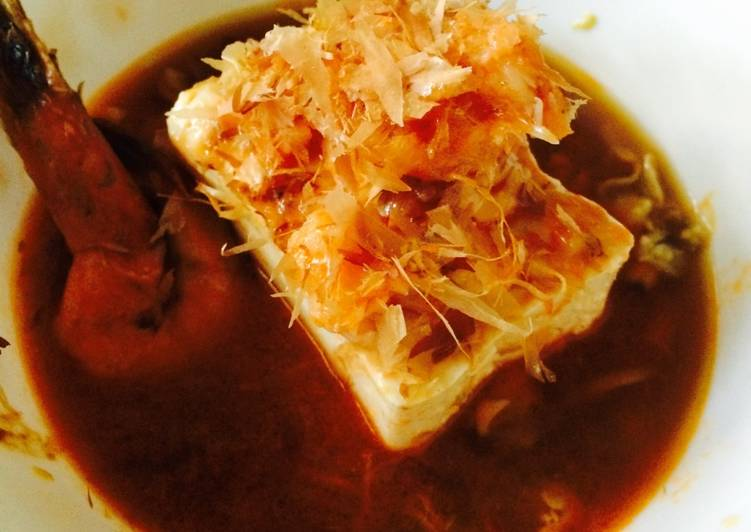 Crustacean tofu ala Belle