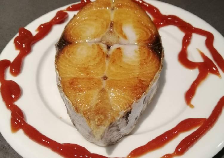 Fried Yellowfin Tuna