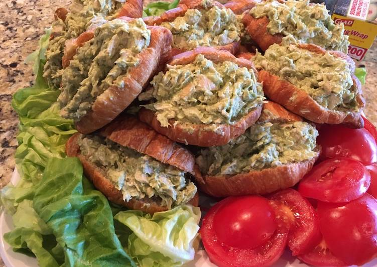 Easy Avocado Chicken Salad