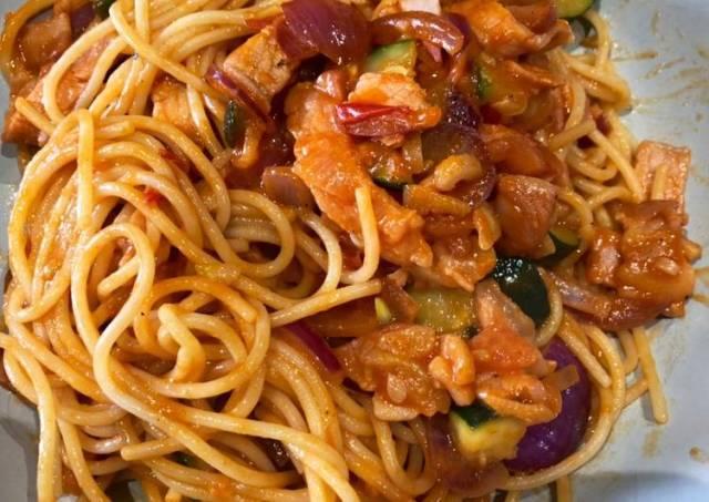 Naporitan(ナポリタン) - spaghetti with ketchup sauce