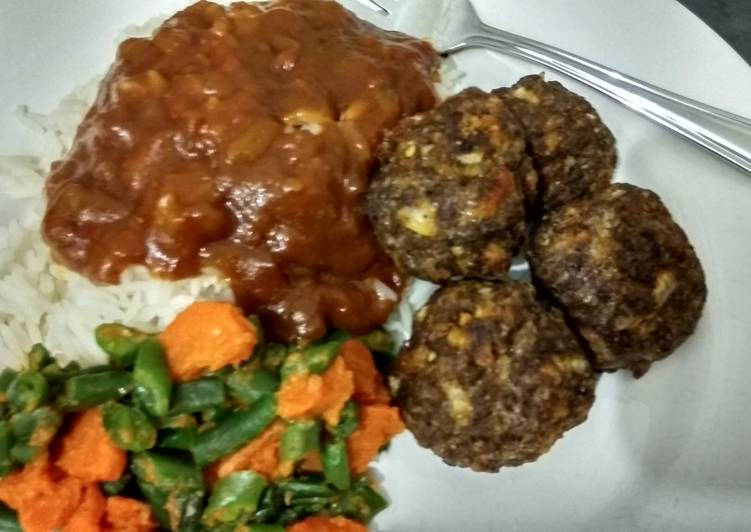 Quick Oven baked Meatballs