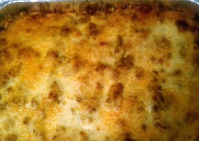 Baked Spaghetti w/ zucchini