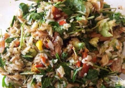 Chopped Rice/Fish Salad