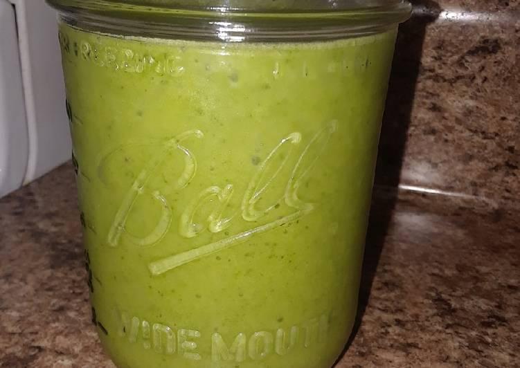 Creamy Kale Smoothie