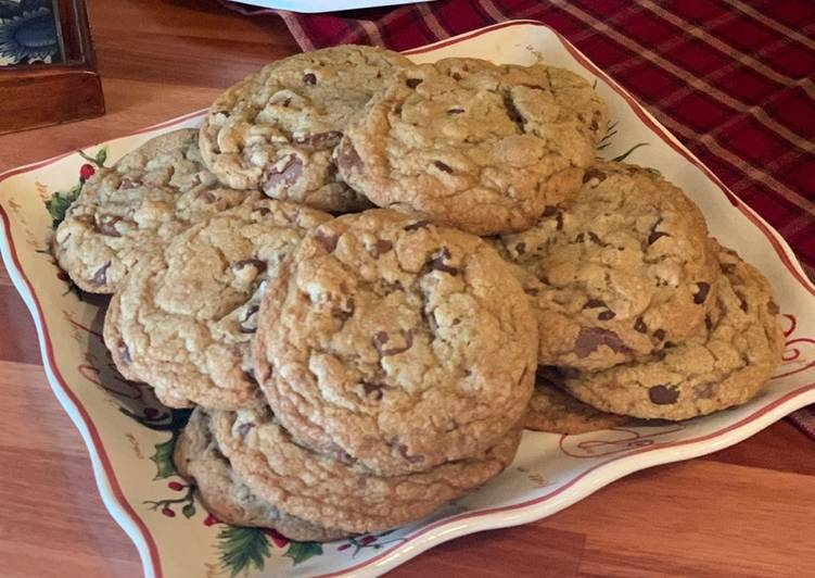 Jay's Brown Butter and Toffee Chocolate Chip Cookies