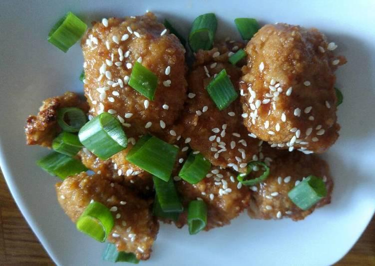 Asian Baked Turkey Bites