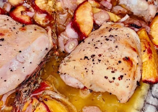 Roasted Balsamic Chicken