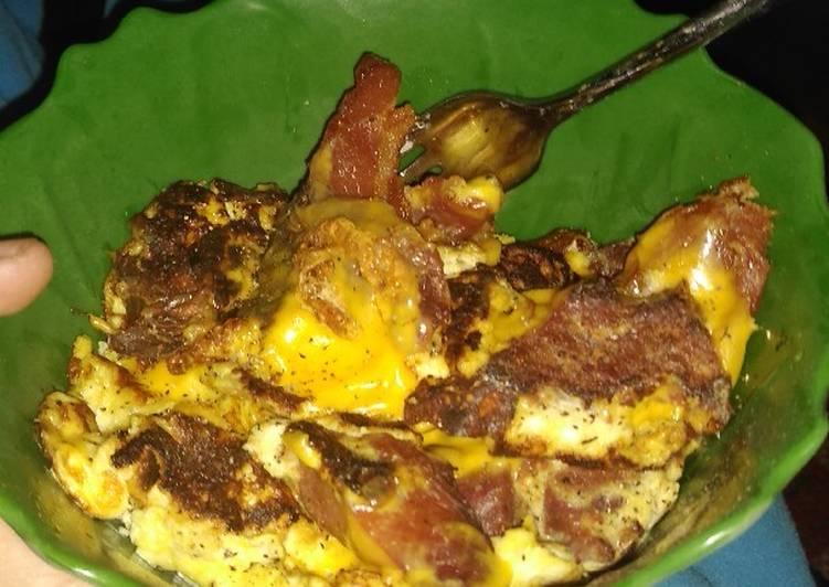 The best-scrambled eggs ever. 😃