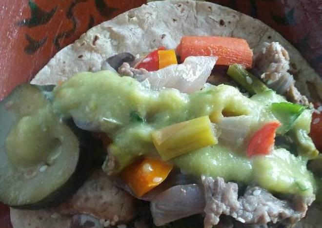 Tacos de Arrachera Saludable