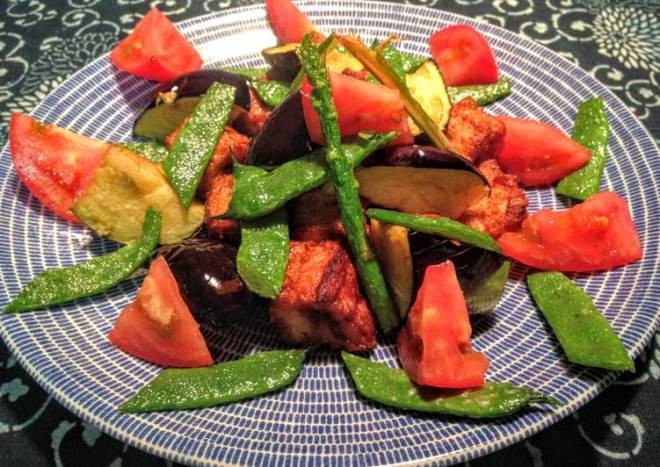 Sweet-Sour Onion Dressing with Marlin