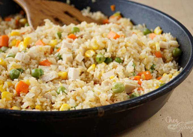 Vietnamese Mixed Fried Rice