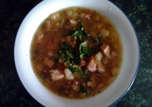 Mexican Pork Tenderloin Soup