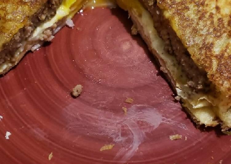 Breakfast Burger Melt