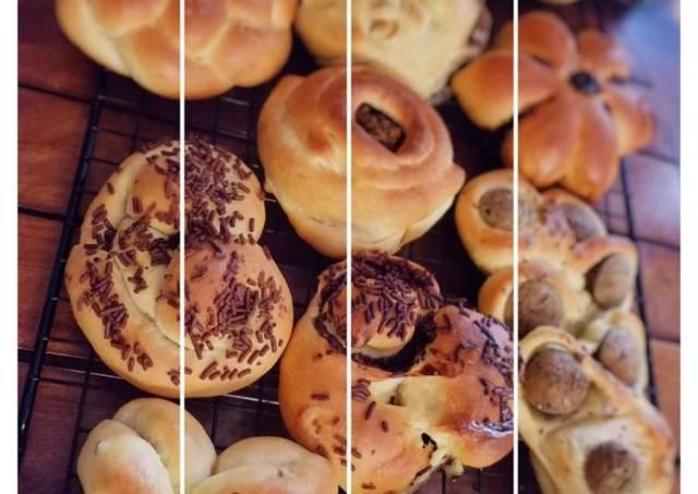 Roti Manis dengan Metode Autolysis