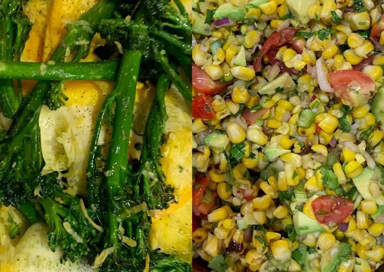 2 sunny summer salads