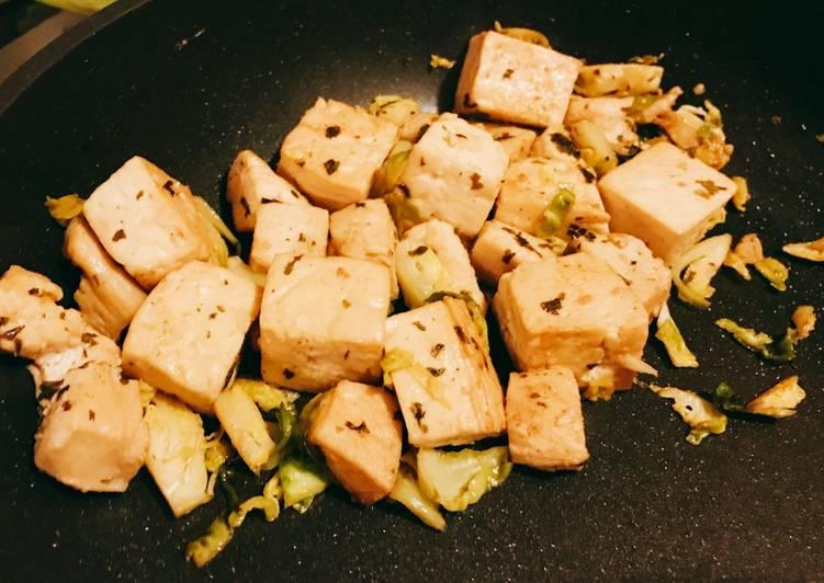 Chicken and Tofu