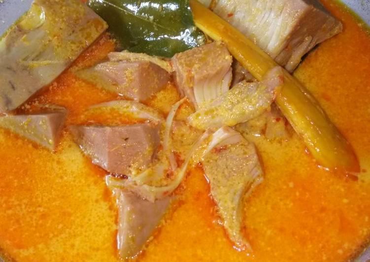 Gulai tewel/nangka