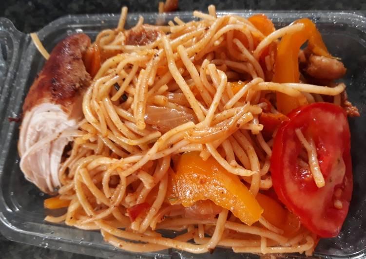 Spagetti jollof