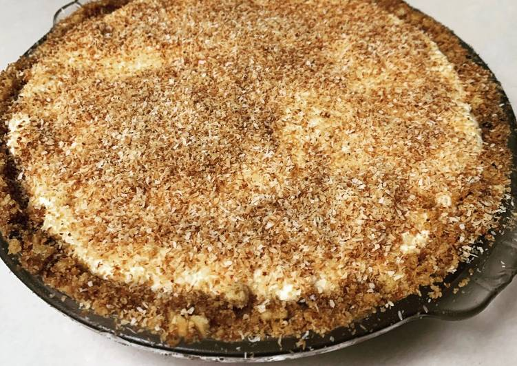 Ynielle's Soursop Cheesecake w/ Desiccated Cocunut