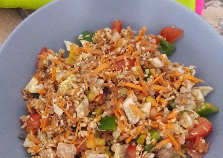 Salade complète express'
