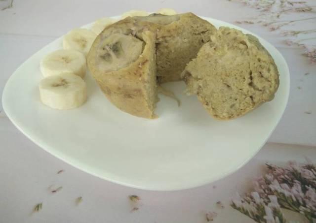 [menu diet] steamed banana oat