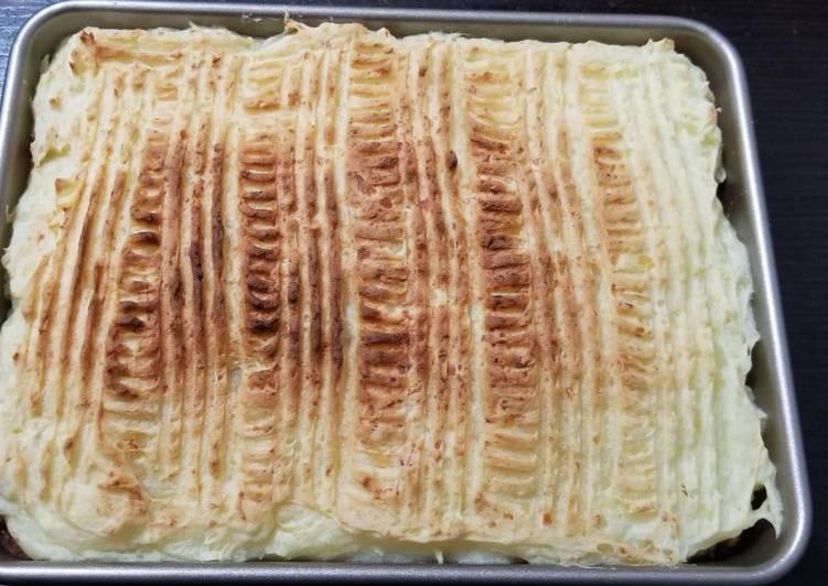 Lazy shepherd pie