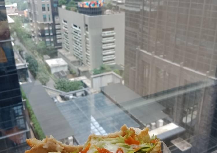 Sandwich Bekal Simple Sehat