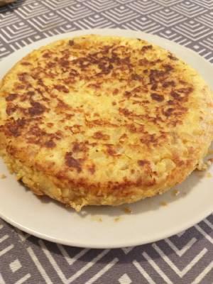 Recetas de tortilla de patata con cebolla