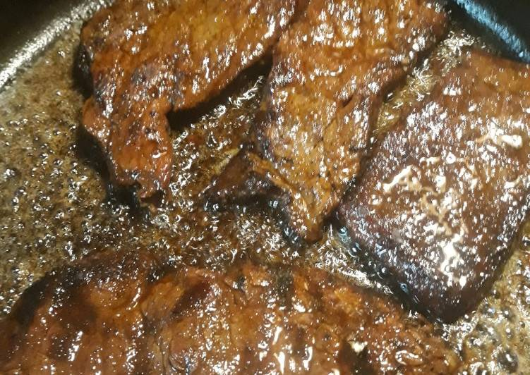 Reheating Grilled Steak with Au Jus