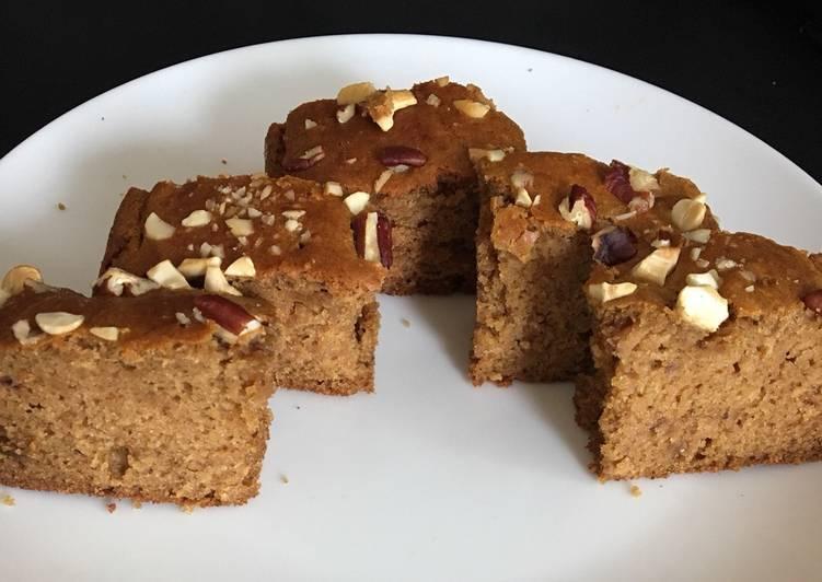 Oats dates Cake