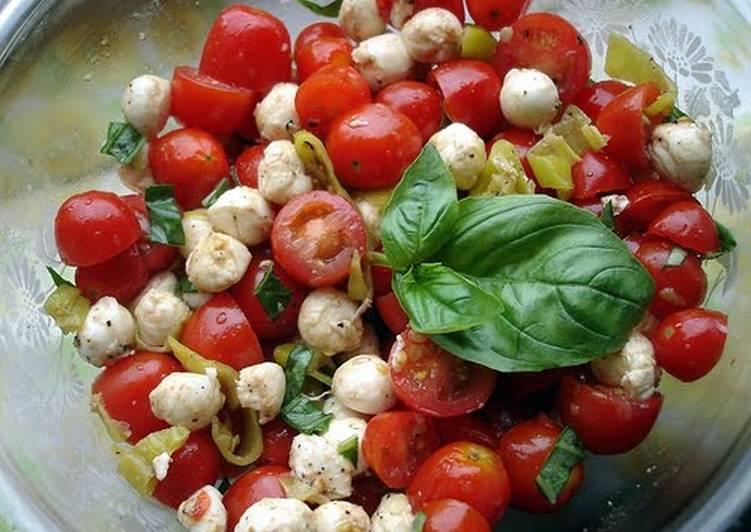 Tomato Bruschetta Salad
