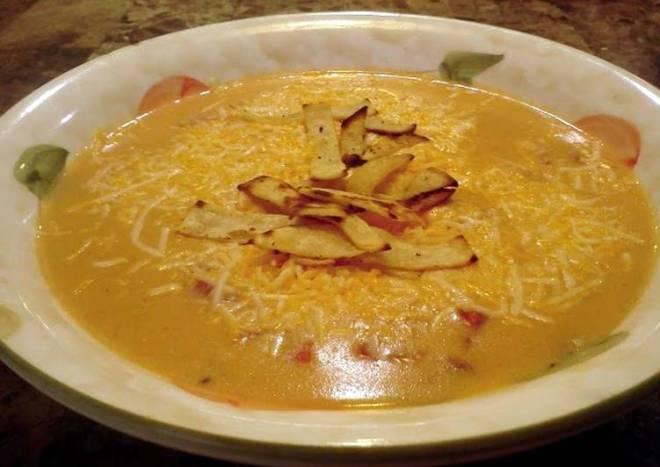 Chilis chicken enchalada soup
