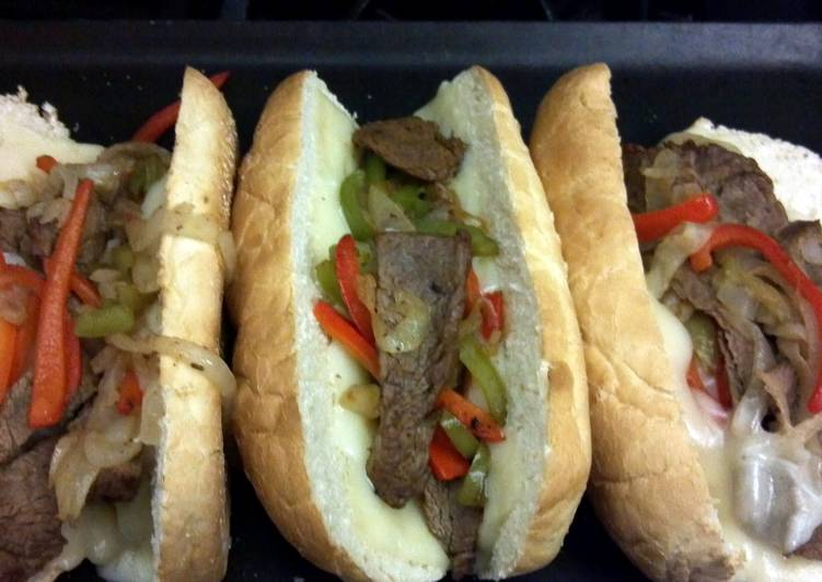 Best Homemade Philly Cheese Steak