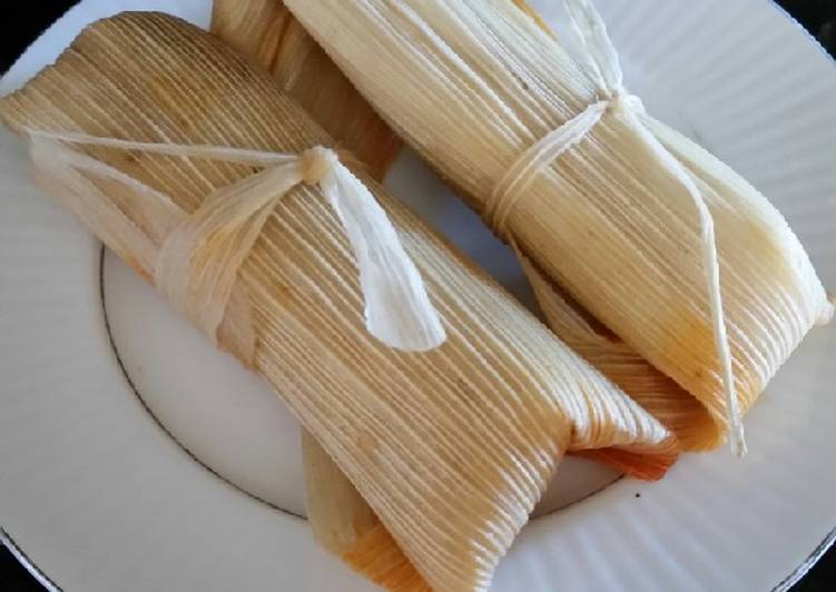 Brad's traditional pork tamales