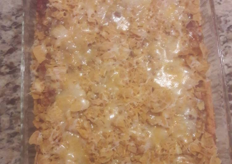 Fritos chilli pie bake