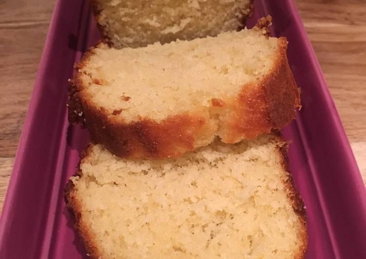 Gâteau au yaourt à l orange
