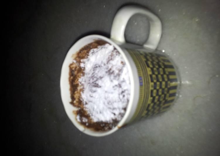 4 Minute Mug cake