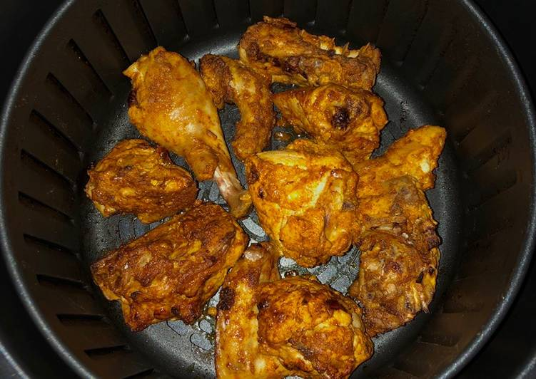Simple and easy fail-safe tasty marinade for grilled chicken with or without that very spicy flavor