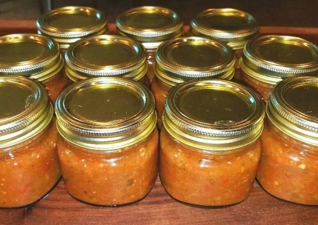 Mike's Mango Habenero Garlic Salsa