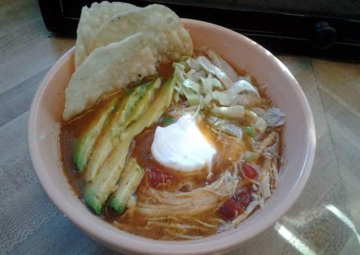 Chicken Tortia Soup