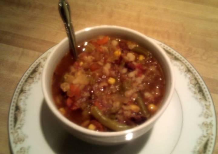 grandma's vegetable beef soup