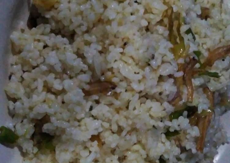 Nasi Goreng Jadul / Nasi Goreng Cabe Garam Teri